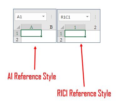 Excel'de sütun başlıkları Rakamdan Harfe çevirme
