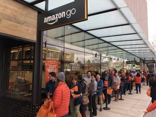Yapay Zekalı Market Amazon Go
