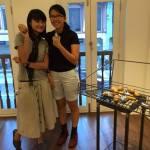 Naked Potatoes pose with Geraldline Kang