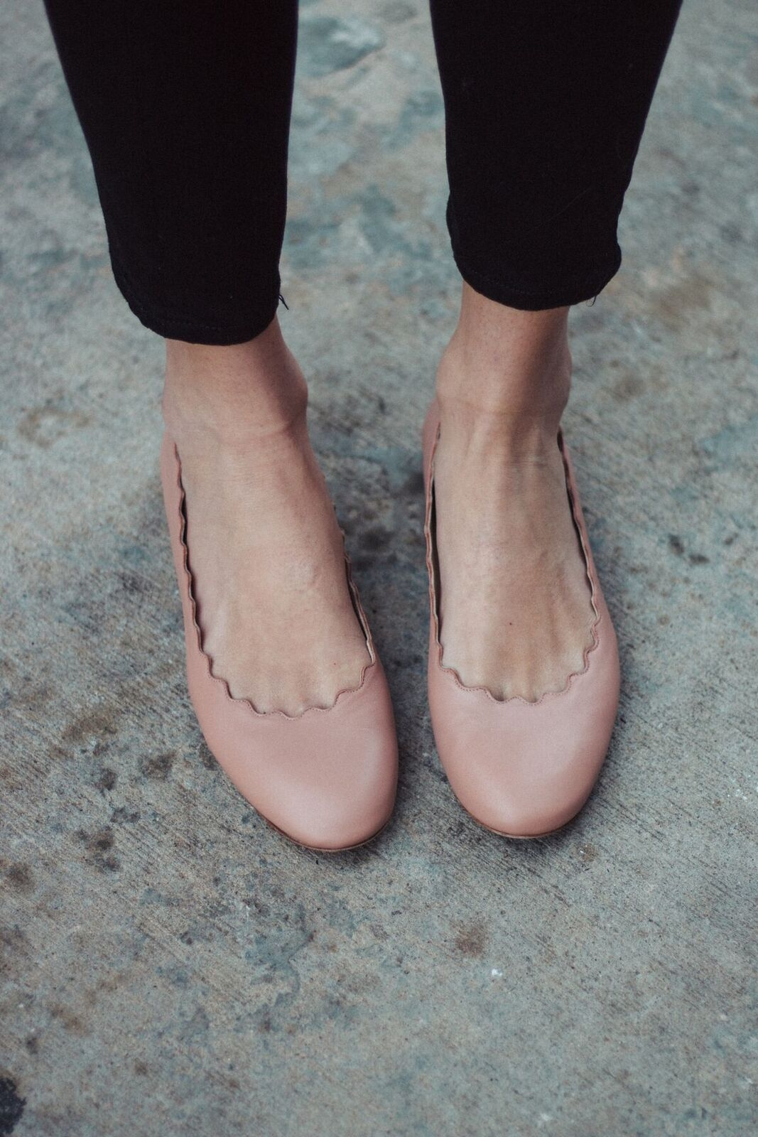 16a04b74ca9 Friday Trends  Review Of The Chloé  Lauren  Scalloped Ballet Flats ...