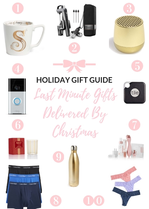 Holiday Gift Guide Last Minute Gifts Delivered By Christmas