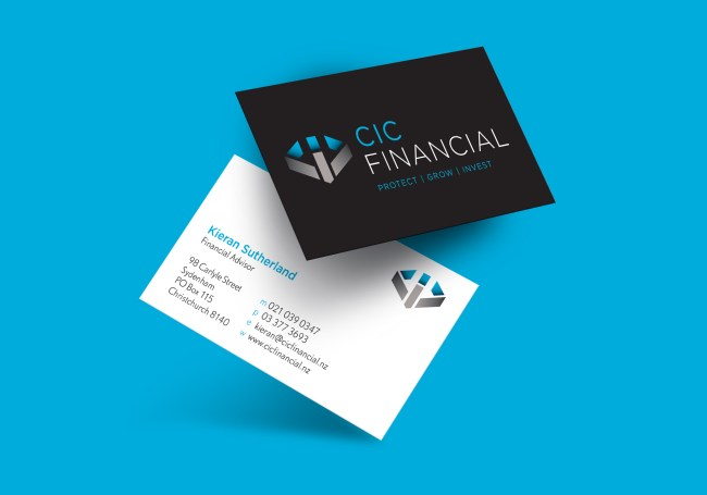 CIC Financial Business Card