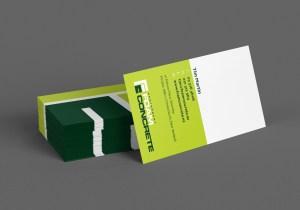 Canterbury Foam Concrete Business Card