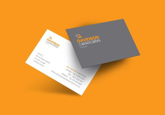 Davidson & Associates Business Card