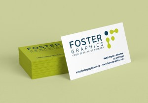 Foster Graphics Business Card