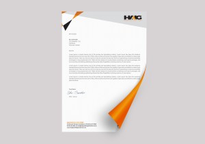 Haig Roofing Solutions Letterhead