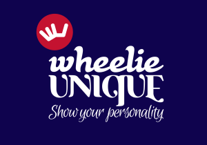 Wheelie Unique Logo Reversed