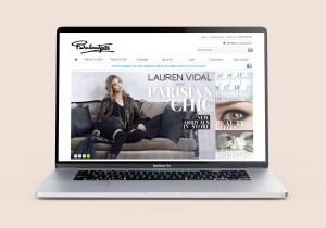 Ballantynes Website Design MacBook