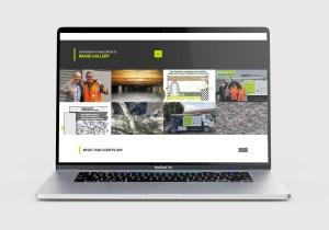 Canterbury Foam Concrete Website Design