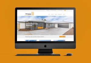 Precision Builders Website