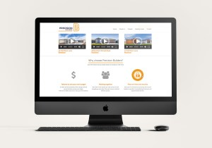Precision Builders Website