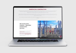 Martin Civil Construction Website