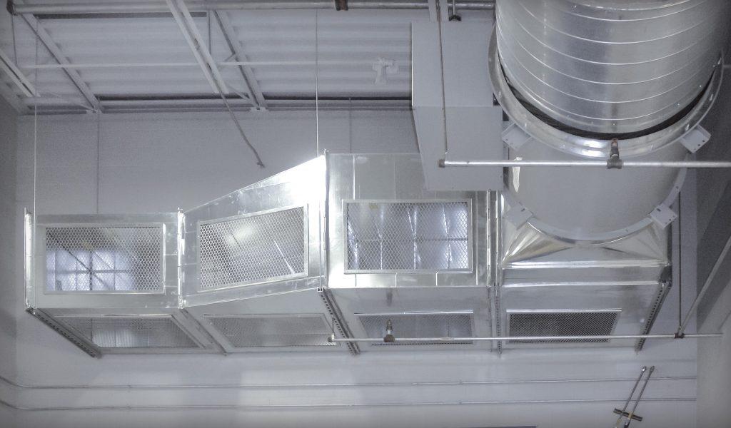 engine test cell air handling