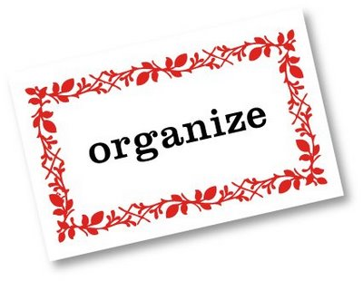 Tips for getting organized at home