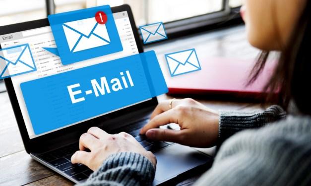 Communicating via e-mail messages.