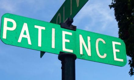 Patient people show improved performance.