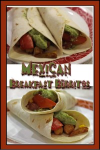 Craving Mexican, but don't want all the fatty cheese and meat? Try these delicious, vegan Mexican Breakfast Burritos. They incorporate an Avocado Cashew Creme instead of sour cream.