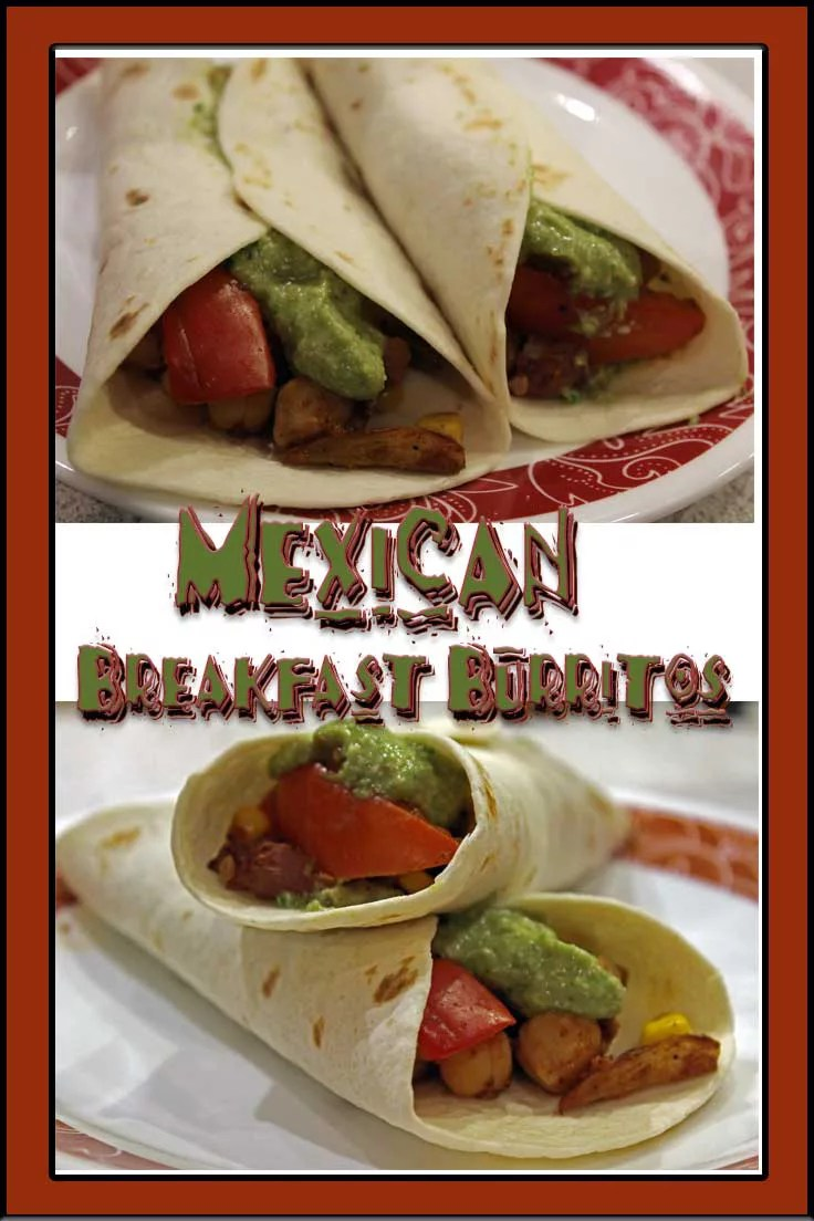 Craving Mexican, but don't want all the fatty cheese and meat? Try these delicious, vegan Mexican Burritos. They incorporate an Avocado Cashew Creme instead of sour cream.