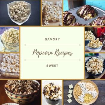 Is Popcorn a Healthy Snack - Popcorn Recipes