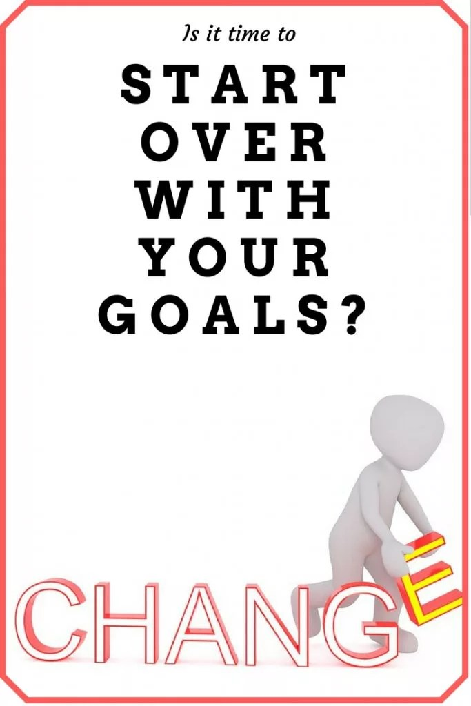 Goal Setting | Starting Over | Fitness and Health