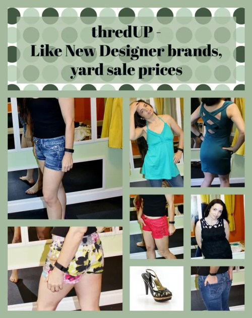 Check out my ThredUp Fashion Finds. I got Billabong, Max Studio, and Asos at almost yard sale prices. Some of it even still had tags!