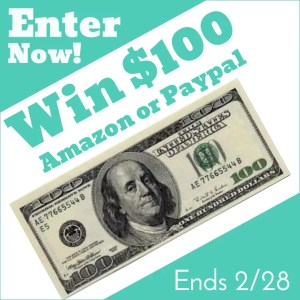 February $100 Giveaway