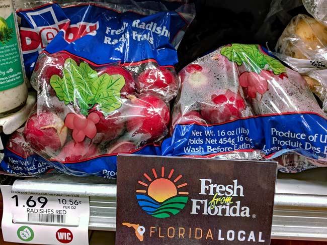 Ravishing Radishes! Perfect February produce from Fresh from Florida