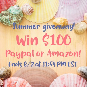 Summer Giveaway - Win $100