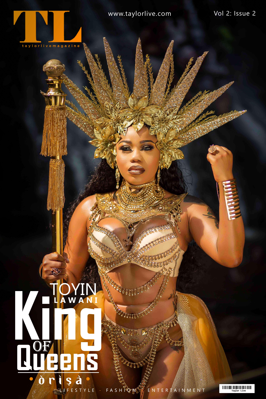 """ORISA"" KING OF QUEENS  Toyin Lawani"