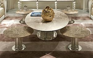 luxury coffee tables sculptural
