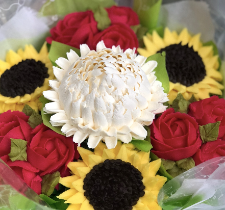 buttercream frosting chrysanthemum, how to make buttercream frosting flowers