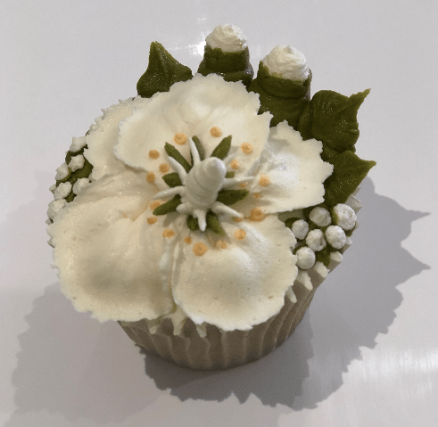 how to pipe buttercream frosting flowers