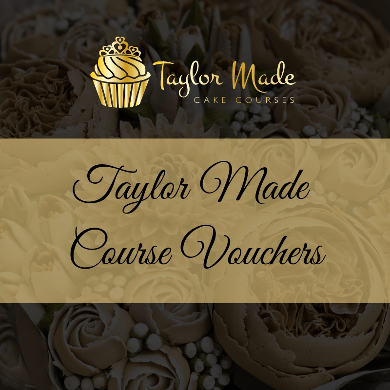 taylor made cake courses voucher