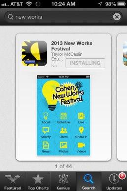 App in the Apple App Store!