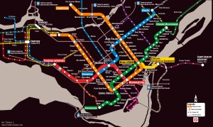 Métro extension and LRT proposal by Dashspeed