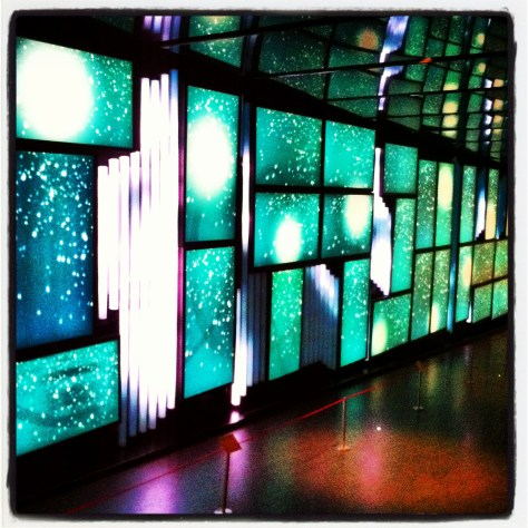 Video Installation at Place des Arts