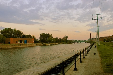 Lachine Canal Sunset - Taylor C. Noakes, 2013