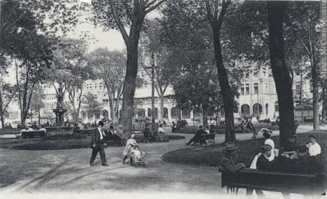Especially considering the creation of the Ville-Marie Expressway caused the stately Viger Square to be destroyed.