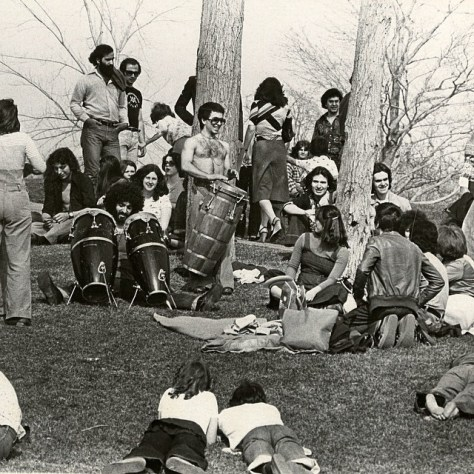 The Tam Tams, forty years ago (Montreal Gazette Archives)