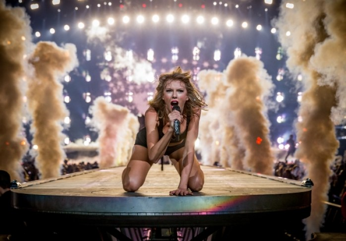 taylor swift pictures staples center california the 1989 world tour