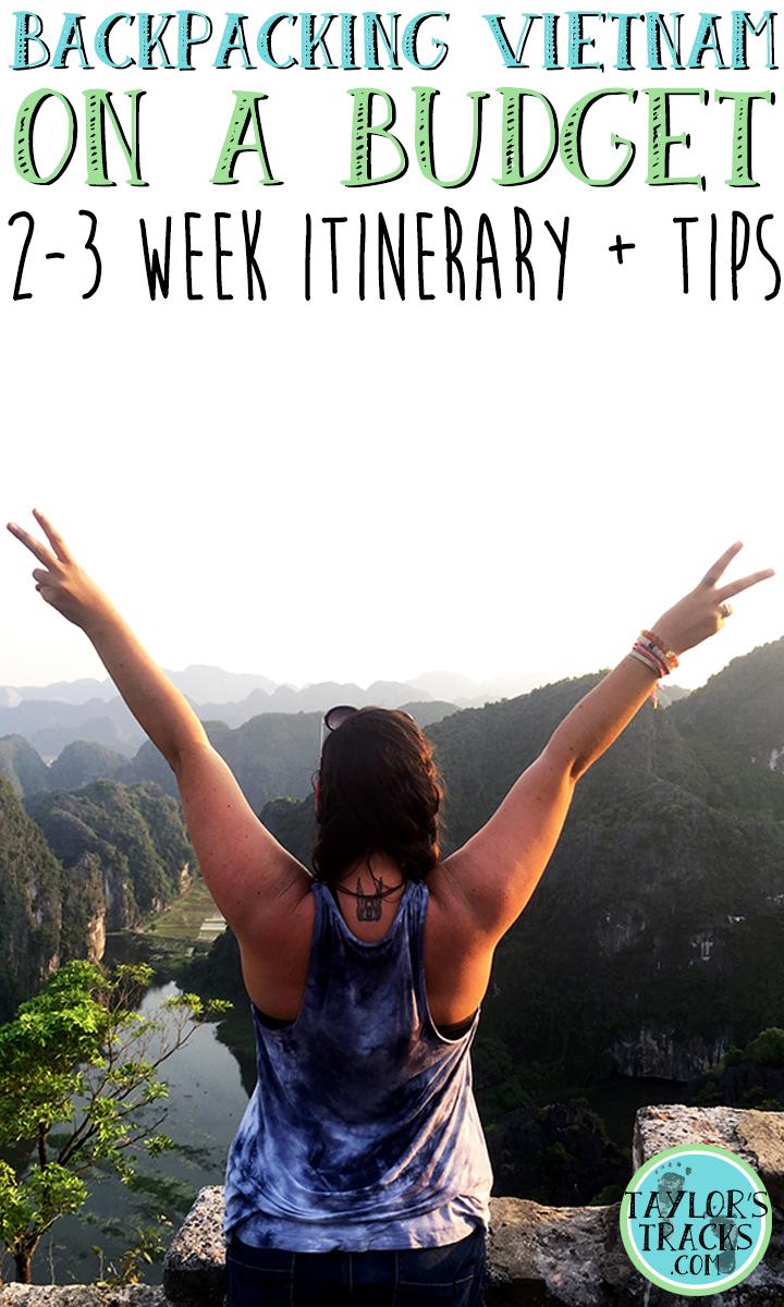 Vietnam Travel on a Budget www.taylorstracks.com