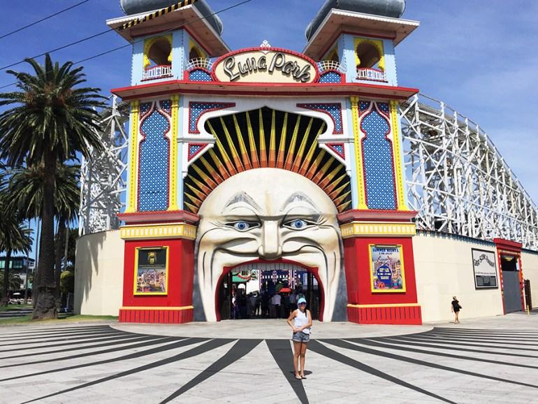 Luna Park Melbourne www.taylorstracks.com