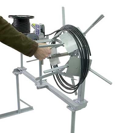 LR100 - Manual Coiler