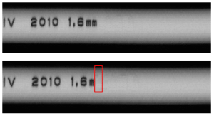 missing cable wire print detected