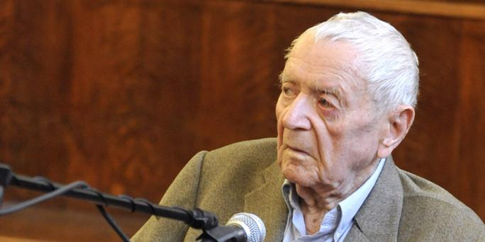 Sándor Képíró im Mai 2011 vor einem Budapester Gericht