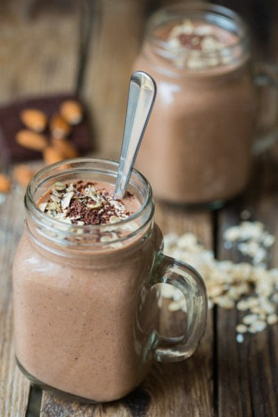 Oats and Chocolate Smoothie