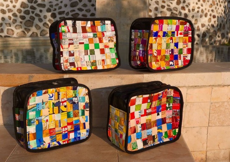 Campaign supporters will get perks such as bags made of upcycled materials.
