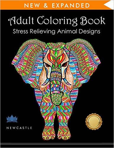 Adult coloring book for Airbnb rental