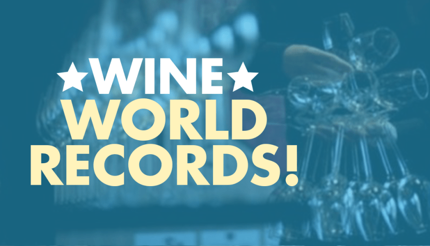 crazy wine world records