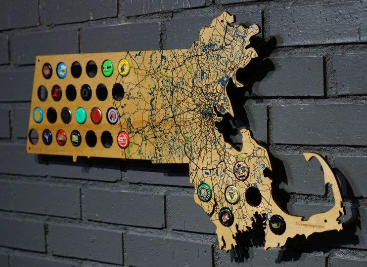 beer cap maps boston state mape